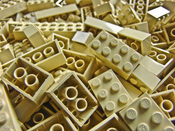 sandsteinfarbige Lego