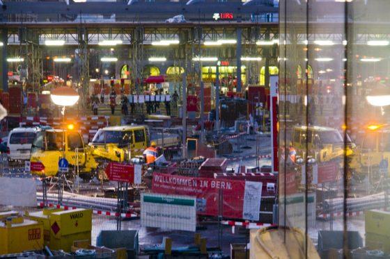 Umbau Bahnhofplatz Bern
