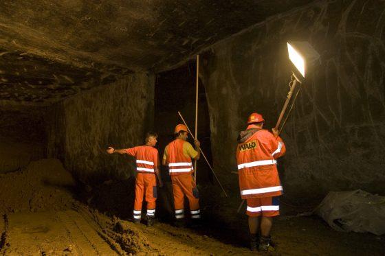Tunnelbau unter der Christoffelunterführung